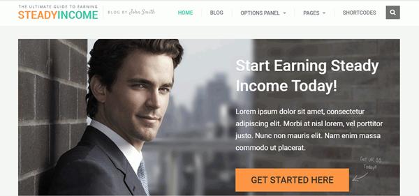 Steady Income Theme