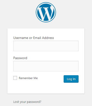 Wordpress login How to start a blog